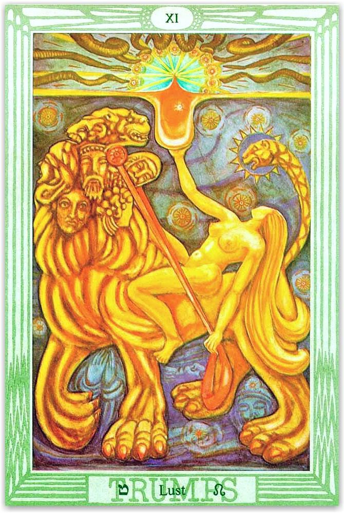 Liber Cheth vel Vallum Abiegni sub figura CLVI
