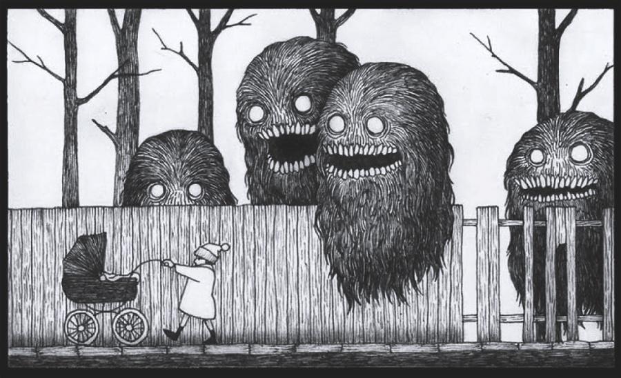 Edward Gorey: Příšerní