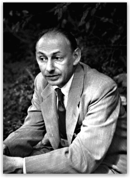 Professor Gershom Scholem Gershom Scholem 1949