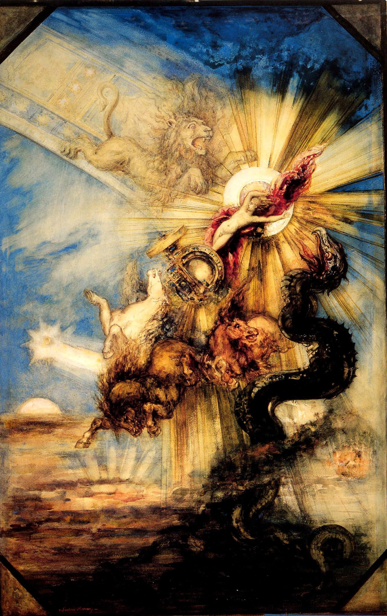 Gustav Moreau: Faethón