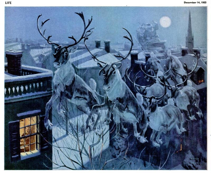 Harold Von Schmidt: Vánoce