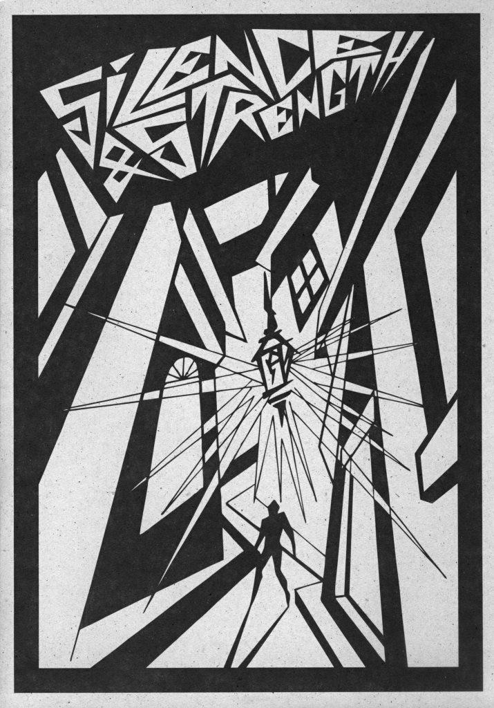 John Coulthart: Haus zur letzten Latern (ilustrace k CD Silence & Strength)