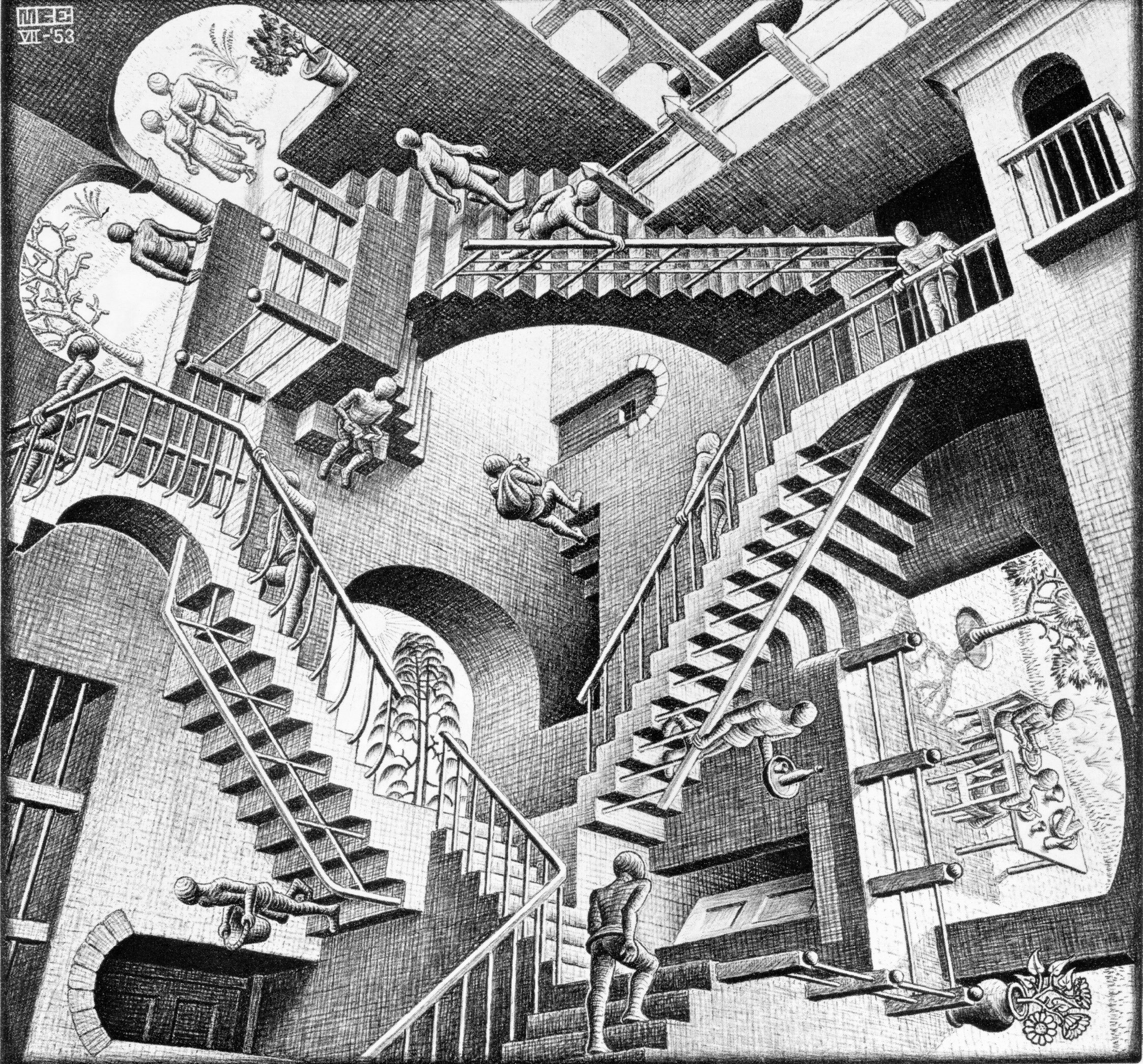 M. C. Escher: Relativita