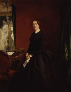 William Powell Frith: Mary Elizabeth Maxwellová (rozená Braddonová) (1865)