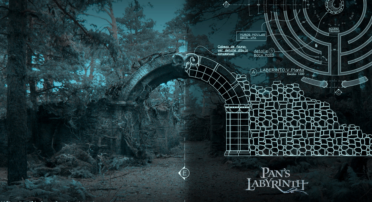 Plán Panova labyrintu