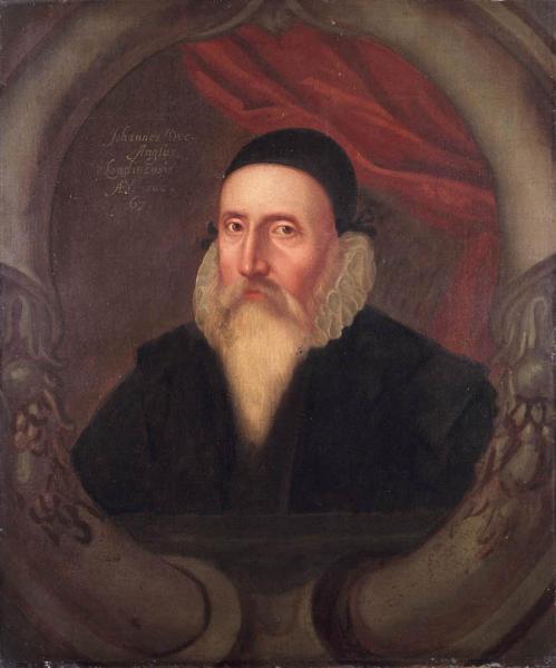 Portrét Johna Deeho (16. stol., neznámý umělec)