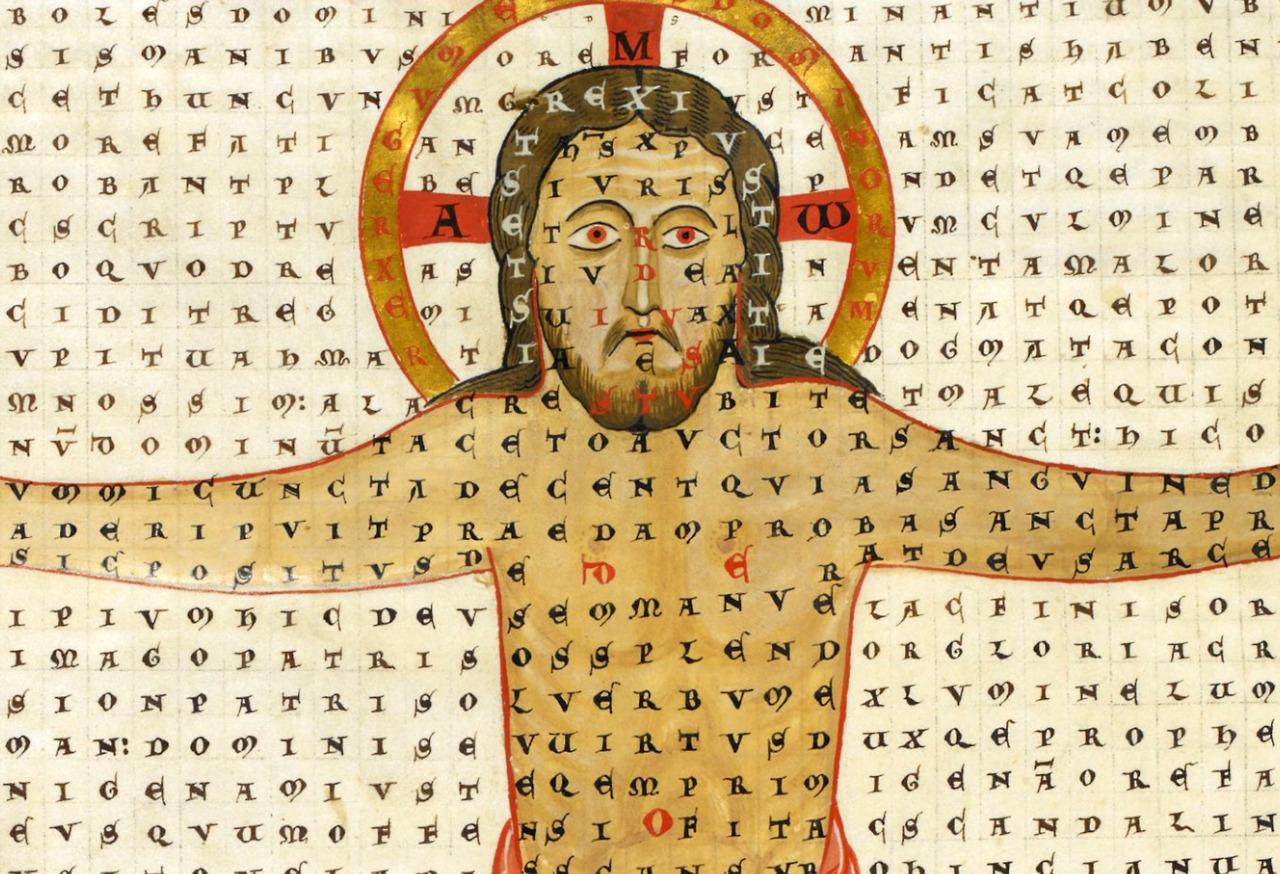 Rabanus Maurus: De laudibus sanctae Crucis