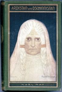 Karl May: Ardistan und Dschinnistan (1904); Sascha Schneider, titulní ilustrace