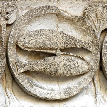 Pisces (St. Lazar, Autun, Burgundsko)