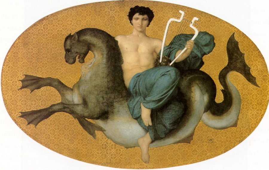 William-Adolphe Bouguereau: Arion (1855)
