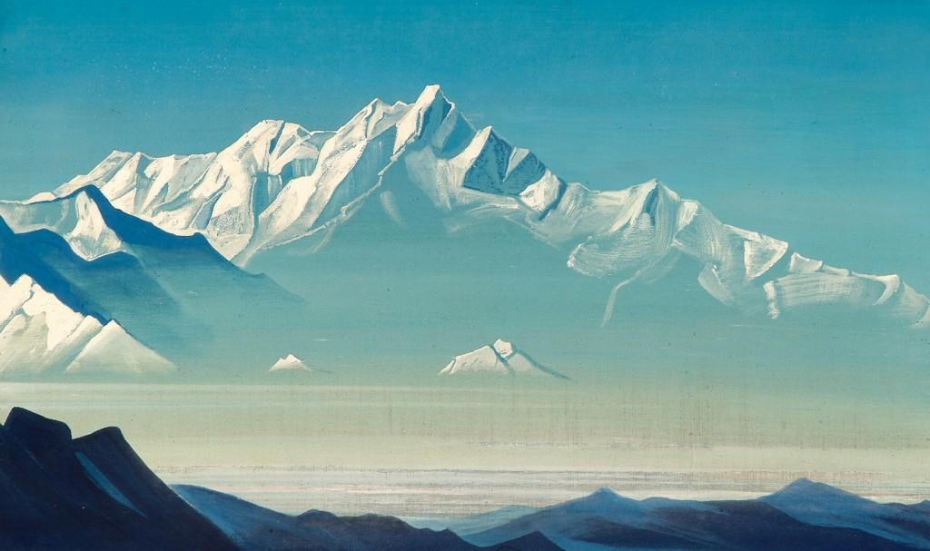 Nicholas Roerich: Hora pěti pokladů dvou světů (1933)