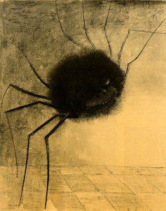 Odilon Redon: Smějící se pavouk